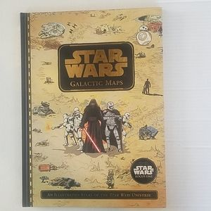 Star Wars Galactic Maps oversized book Brand New